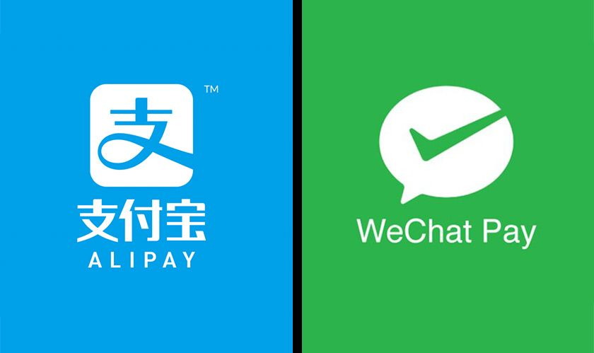 We accept Alipay and WeChat
